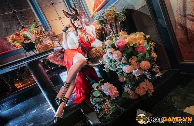 Nữ cosplay khiến game thủ ngẩn ngơ với bộ ảnh Akagi cực chất