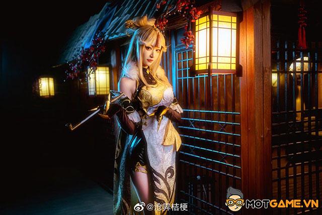 Ningguang vùng Liyue và bộ cosplay đầu năm cực chất
