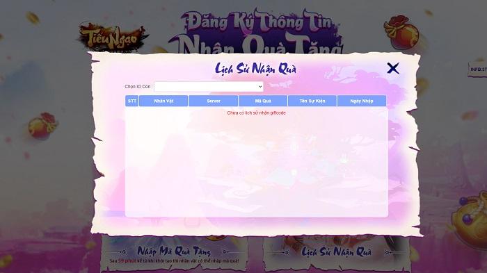 Tiếu Ngạo Giang Hồ tặng 400 gift code nhân dịp khai mở máy chủ mới Linh Lung 20/7