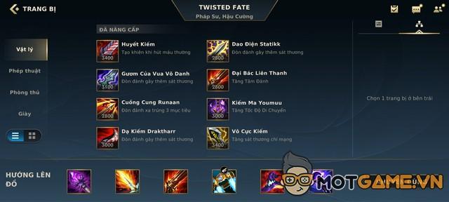 Tốc Chiến: Twisted Fate Suối Nguồn Sinh Mệnh - Build dị nhưng hiệu quả của SGP Whis!