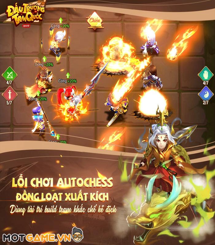 Đấu Trường Tam Quốc - Game cờ nhân phẩm 3Q đầu tiên tại Việt Nam