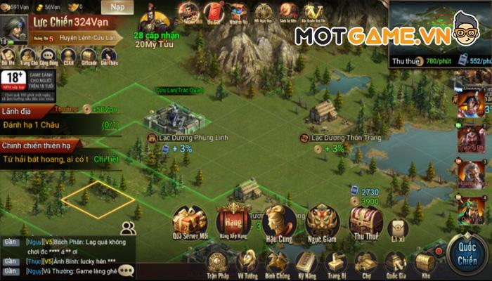 Trải nghiệm: 3Q Quần Hùng Tam Quốc Công Thành game Tam Quốc SLG trên nền tảng H5 tiên tiến!