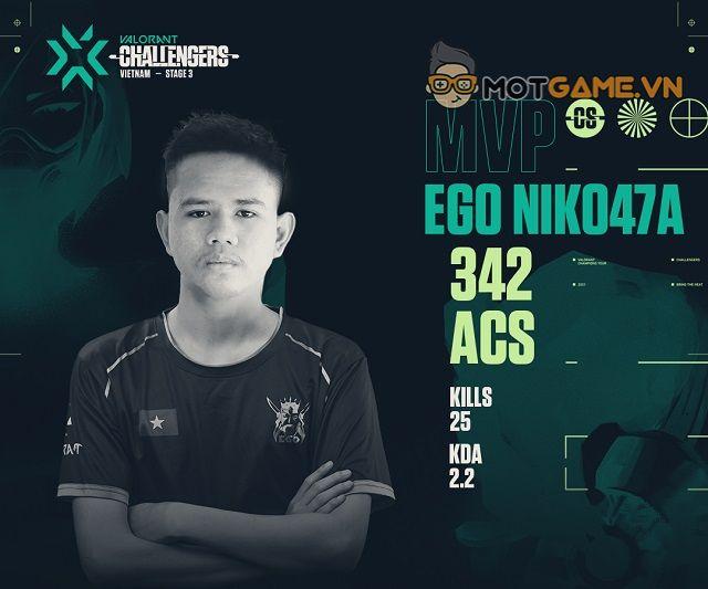 VCT Vietnam Stage 3 - Challengers 3 hạ màn, gọi tên nhà vô địch EGO