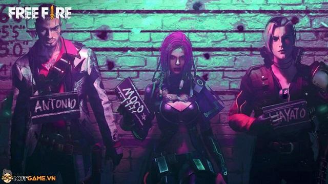 Top 5 nhân vật Free Fire sở hữu kỹ năng có thể kết hợp với Dimitri