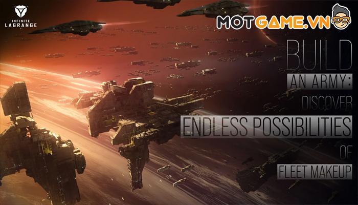 Infinite Lagrange - Bom tấn chiến thuật mô phỏng chiến tranh không gian vũ trụ của NetEase!