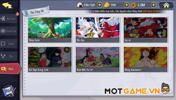 Gameplay độc nhất vô nhị chỉ có tại Khuyển Dạ Xoa Truyền Kỳ - IP Inuyasha