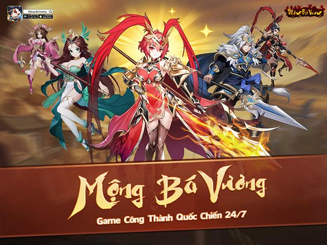 """Mộng Bá Vương: Tựa game mobile chiến thuật Tam Quốc cực """"cute"""" sắp ra mắt game thủ Việt"""
